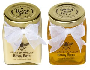 Wedding Honey Favours - Hunter Valley Honey Farm